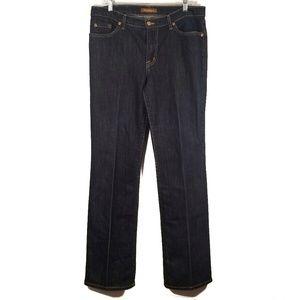 David Kahn Dark Wash Bootcut Jeans/ 14
